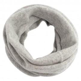 Grauer Halswärmer aus reinem Kaschmir