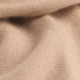 Sandfarbig Pashmina-Tuch aus Kaschmir