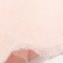 Kleiner Kaschmir-Tuch in Zartrosa