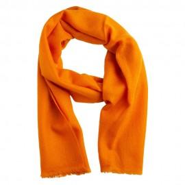 Kleiner Kaschmir-Tuch in Orange
