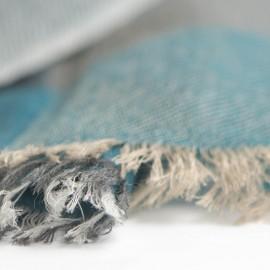 Karierter Pashmina-Schal in vier Farben