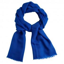 Blauer diamantgewebter Pashmina-Schal