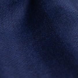 Blau gestreifte Kaschmir-Stola in Diamantbindung