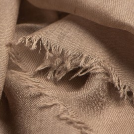 Mausgrauer extra großer Schal aus Kaschmir 200 x 140 cm
