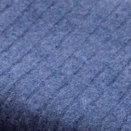 Dunkelblaue Decke aus reinem Kaschmir