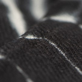 Schwarzer / Weisßer Tie-Dye schal