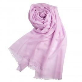 Lavendelfarbener extra großer Schal aus Kaschmir