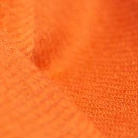 Kleines rostoranges Kaschmir-Tuch