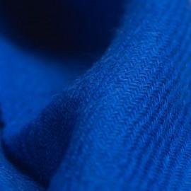 Kleines blaues Kaschmir-Tuch