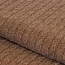 Taupegraue Kaschmir-Decke