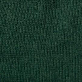 Flaschengrüner Halswärmer aus reinem Kaschmir