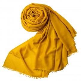 Dunkellila extra großer Schal aus Kaschmir/Seide 250 x 200 cm
