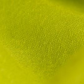 Lindgrüner Pashmina-Schal in Leinwandbindung
