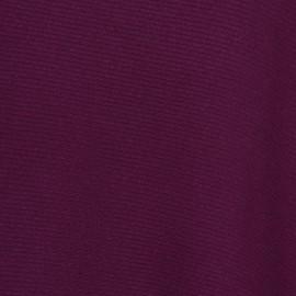 Pflaumenfarbener Poncho aus Kaschmir