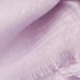 Lavendelfarbener diamantgewebter Pashmina-Schal