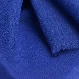 Blaulila diamantgewebter Pashmina-Schal