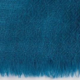 Stahlblauer diamantgewebter Pashmina-Schal