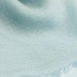 Opalfarbener diamantgewebter Pashmina-Schal