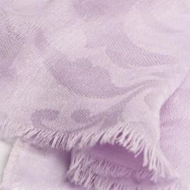 Lavendelfarbener Jacquard-Pashmina-Schal