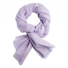 Lavendelfarbenes, twillgewebtes Pashmina-Tuch