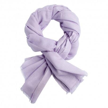 Lavendelfarbenes twillgewebtes Pashmina-Tuch