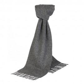 Graues Halstuch aus Lammwolle