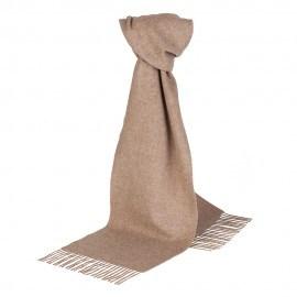 Beiges Halstuch aus Lammwolle