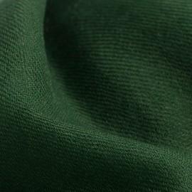 Armeegrüner Pashmina-Schal in 2-Lagen-Kaschmir