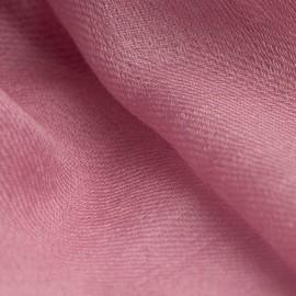 Rotvioletter Pashmina-Schal in 2-Lagen-Kaschmir