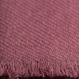 Rotviolettes Pashmina-Tuch aus reinem Kaschmir