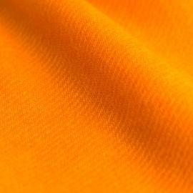 Orangefarbenes twillgewebtes Pashmina-Tuch