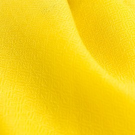 Gelbes diamantgewebtes Kaschmir-Tuch