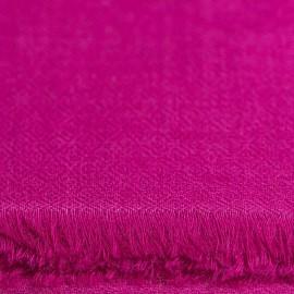 Violetter diamantgewebter Pashmina-Schal