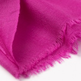 Violettes Pashmina-Tuch in doppelfädiges Twill