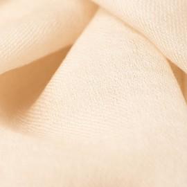 Beigefarbener Pashmina-Schal in doppelfädiges Twill